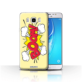 STUFF4 Case/Cover for Samsung Galaxy J5 2016 / Boom! Design / Comics/Cartoon Words Collection Mobile phones