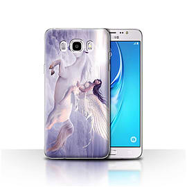 STUFF4 Case/Cover for Samsung Galaxy J5 2016 / I Can Fly Design / Fantasy Angel Collection Mobile phones