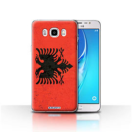 STUFF4 Case/Cover for Samsung Galaxy J5 2016 / Albania/Albanian Design / Flags Collection Mobile phones
