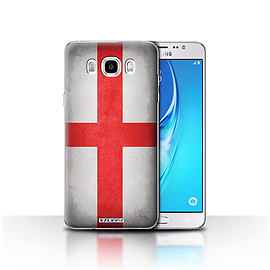STUFF4 Case/Cover for Samsung Galaxy J5 2016 / England/English Design / Flags Collection Mobile phones