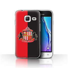 Sunderland AFC Case/Cover for Samsung Galaxy J1 Nxt/Mini/Red/Black Design/SAFC Football Club Crest Mobile phones