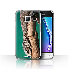 STUFF4 Case/Cover for Samsung Galaxy J1 Nxt/Mini / Lizard Design / Wildlife Animals Collection Mobile phones