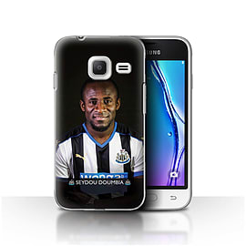 Official NUFC Case/Cover for Samsung Galaxy J1 Nxt/Mini/Doumbia Design/NUFC Football Player 15/16 Mobile phones