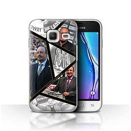 Newcastle United FC Case/Cover for Samsung Galaxy J1 Nxt/Mini/Montage Design/NUFC Rafa Ben?tez Mobile phones