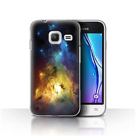 Chris Cold Case/Cover for Samsung Galaxy J1 Nxt/Mini/Arcuarius Nebula Design/Alien World Cosmos Mobile phones