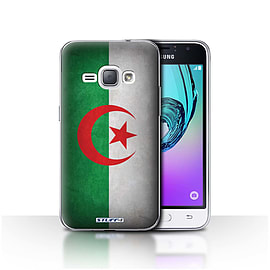 STUFF4 Case/Cover for Samsung Galaxy J1 2016 / Algeria/Algerian Design / Flags Collection Mobile phones