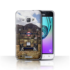 STUFF4 Case/Cover for Samsung Galaxy J1 2016 / Subway Design / Imagine It Collection Mobile phones
