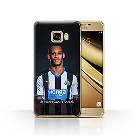 Newcastle United FC Case/Cover for Samsung Galaxy C7/Gouffran Design/NUFC Football Player 15/16 Mobile phones