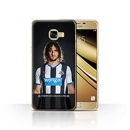 Newcastle United FC Case/Cover for Samsung Galaxy C5/Coloccini Design/NUFC Football Player 15/16 Mobile phones