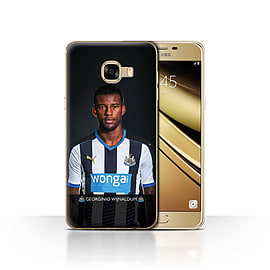 Newcastle United FC Case/Cover for Samsung Galaxy C5/Wijnaldum Design/NUFC Football Player 15/16 Mobile phones