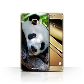 STUFF4 Case/Cover for Samsung Galaxy C5 / Panda Bear Design / Wildlife Animals Collection Mobile phones