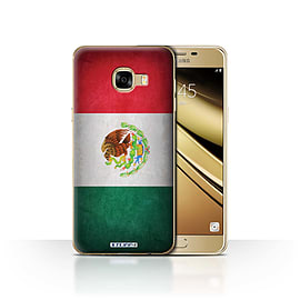STUFF4 Case/Cover for Samsung Galaxy C5 / Mexico/Mexican Design / Flags Collection Mobile phones