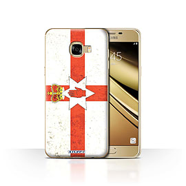 STUFF4 Case/Cover for Samsung Galaxy C5 / Northern Ireland Design / Flags Collection Mobile phones