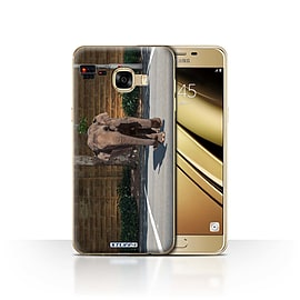 STUFF4 Case/Cover for Samsung Galaxy C5 / Jaywalking Design / Imagine It Collection Mobile phones