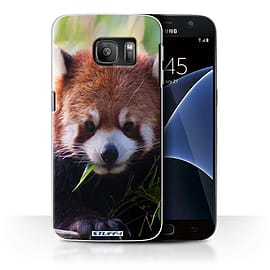 STUFF4 Case/Cover for Samsung Galaxy S7/G930 / Racoon Design / Wildlife Animals Collection Mobile phones