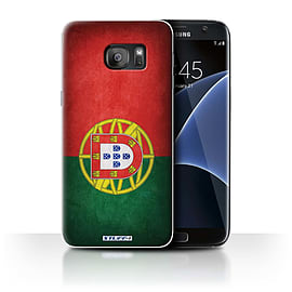 STUFF4 Case/Cover for Samsung Galaxy S7 Edge/G935 / Portugal/Portuguese Design / Flags Collection Mobile phones