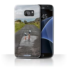 STUFF4 Case/Cover for Samsung Galaxy S7 Edge/G935 / Splash Design / Imagine It Collection Mobile phones