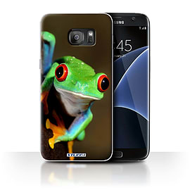 STUFF4 Case/Cover for Samsung Galaxy S7 Edge/G935 / Frog Design / Wildlife Animals Collection Mobile phones