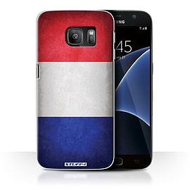 STUFF4 Case/Cover for Samsung Galaxy S7/G930 / France/French Design / Flags Collection Mobile phones