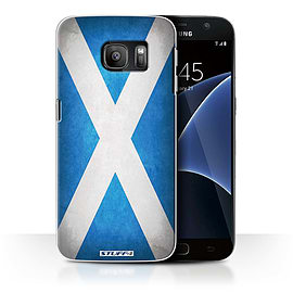 STUFF4 Case/Cover for Samsung Galaxy S7/G930 / Scotland/Scottish Design / Flags Collection Mobile phones