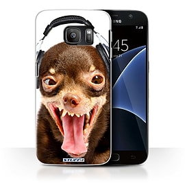 STUFF4 Case/Cover for Samsung Galaxy S7/G930 / Ridiculous Dog Design / Funny Animals Collection Mobile phones