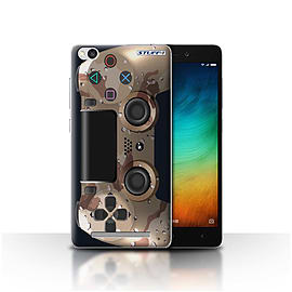 STUFF4 Case/Cover for Xiaomi Redmi 3 / Desert Camouflage Design / Playstation PS4 Collection Mobile phones