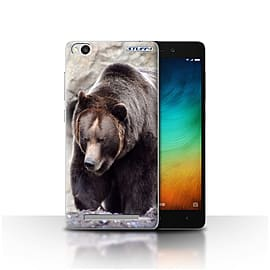 STUFF4 Case/Cover for Xiaomi Redmi 3 / Bear Design / Wildlife Animals Collection Mobile phones