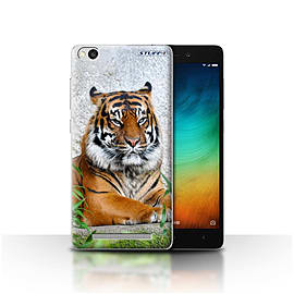 STUFF4 Case/Cover for Xiaomi Redmi 3 / Tiger Design / Wildlife Animals Collection Mobile phones