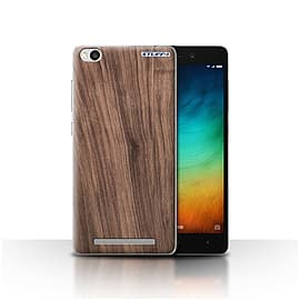 STUFF4 Case/Cover for Xiaomi Redmi 3 / Walnut Design / Wood Grain Effect/Pattern Collection Mobile phones