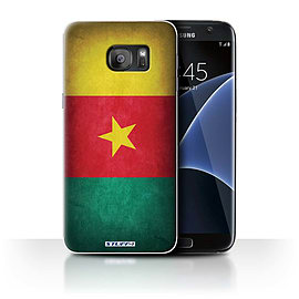 STUFF4 Case/Cover for Samsung Galaxy S7 Edge/G935 / Cameroon/Cameroonian Design / Flags Collection Mobile phones