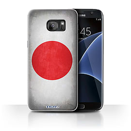 STUFF4 Case/Cover for Samsung Galaxy S7 Edge/G935 / Japan/Japanese Design / Flags Collection Mobile phones