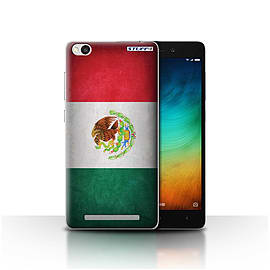 STUFF4 Case/Cover for Xiaomi Redmi 3 / Mexico/Mexican Design / Flags Collection Mobile phones