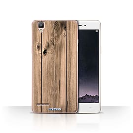 STUFF4 Case/Cover for Oppo F1 / Plank Design / Wood Grain Effect/Pattern Collection Mobile phones