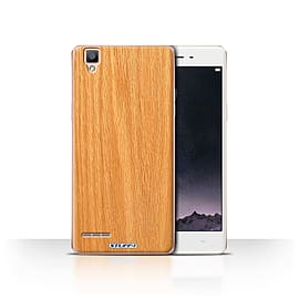 STUFF4 Case/Cover for Oppo F1 / Pine Design / Wood Grain Effect/Pattern Collection Mobile phones