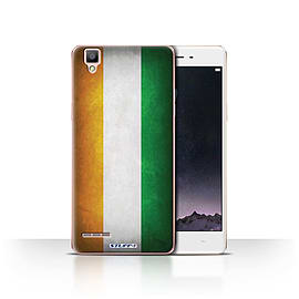 STUFF4 Case/Cover for Oppo F1 / Ivory Coast Design / Flags Collection Mobile phones