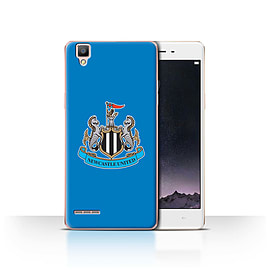 Official Newcastle United FC Case/Cover for Oppo F1/Colour/Blue Design/NUFC Football Crest Mobile phones