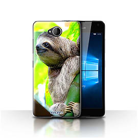 STUFF4 Case/Cover for Microsoft Lumia 650 / Sloth Design / Wildlife Animals Collection Mobile phones