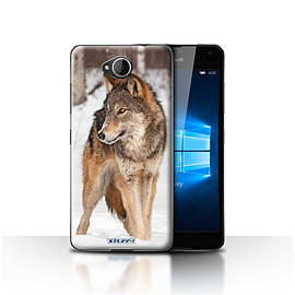 STUFF4 Case/Cover for Microsoft Lumia 650 / Wolf Design / Wildlife Animals Collection Mobile phones