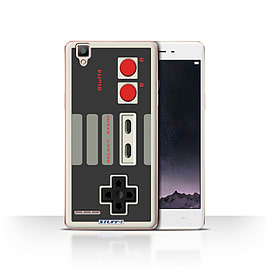 STUFF4 Case/Cover for Oppo F1 / Nintendo Classic Design / Games Console Collection Mobile phones