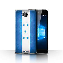 STUFF4 Case/Cover for Microsoft Lumia 650 / Honduras/Honduran Design / Flags Collection Mobile phones