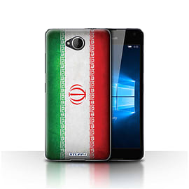 STUFF4 Case/Cover for Microsoft Lumia 650 / Iran/Iranian Design / Flags Collection Mobile phones