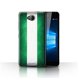 STUFF4 Case/Cover for Microsoft Lumia 650 / Nigeria/Nigerian Design / Flags Collection Mobile phones
