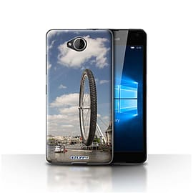 STUFF4 Case/Cover for Microsoft Lumia 650 / London Eye Design / Imagine It Collection Mobile phones
