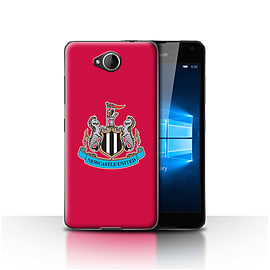 Newcastle United FC Case/Cover for Microsoft Lumia 650/Colour/Red Design/NUFC Football Crest Mobile phones