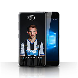 Newcastle United FC Case/Cover for Microsoft Lumia 650/Colback Design/NUFC Football Player 15/16 Mobile phones