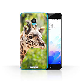 STUFF4 Case/Cover for Meizu M3 / Giraffe Design / Wildlife Animals Collection Mobile phones