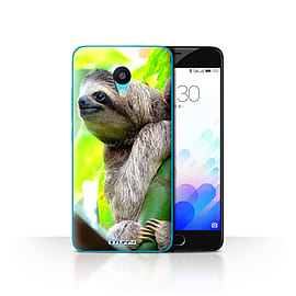 STUFF4 Case/Cover for Meizu M3 / Sloth Design / Wildlife Animals Collection Mobile phones