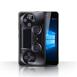 STUFF4 Case/Cover for Microsoft Lumia 650 / Playstation PS4 Design / Games Console Collection Mobile phones