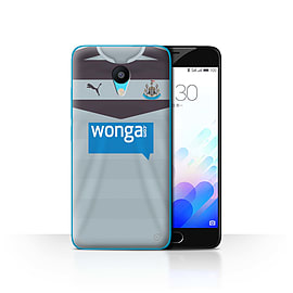 Official Newcastle United FC Case/Cover for Meizu M3/Goalkeeper Design/NUFC Away Shirt/Kit 15/16 Mobile phones