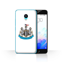 Official Newcastle United FC Case/Cover for Meizu M3/Colour/White Design/NUFC Football Crest Mobile phones